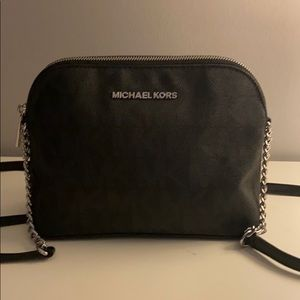 Michael Kors Black Over The Shoulder Bag